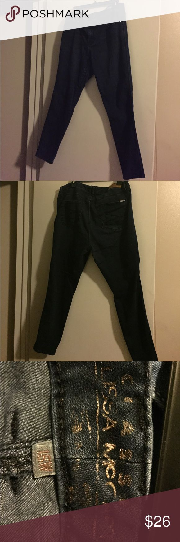 Melissa McCartney Seven skinny Jeans - 18W Classic Skinny Jeans in Dark Denim. Only worn a couple of times. Melissa McCarthy Pants Skinny