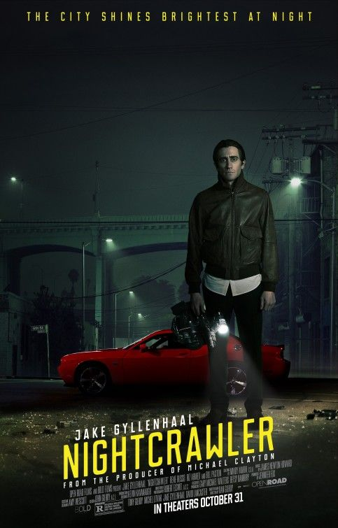 Nightcrawler Horror movie starring Jake Gyllenhaal Nominated for a 30th Spirit Award 2015
