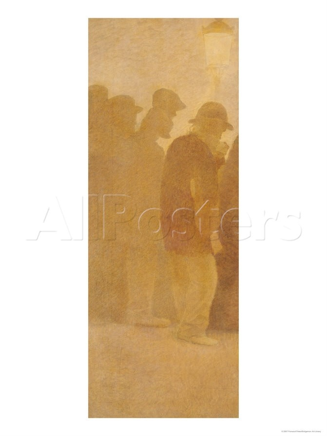 "46x61 but pic 38x50  so fit lounge fram e35x50  The Mouthful of Bread, Waiting in Line, Study for ""Charity"", 1892-1908 reproduction procédé giclée par Fernand Pelez sur AllPosters.fr"