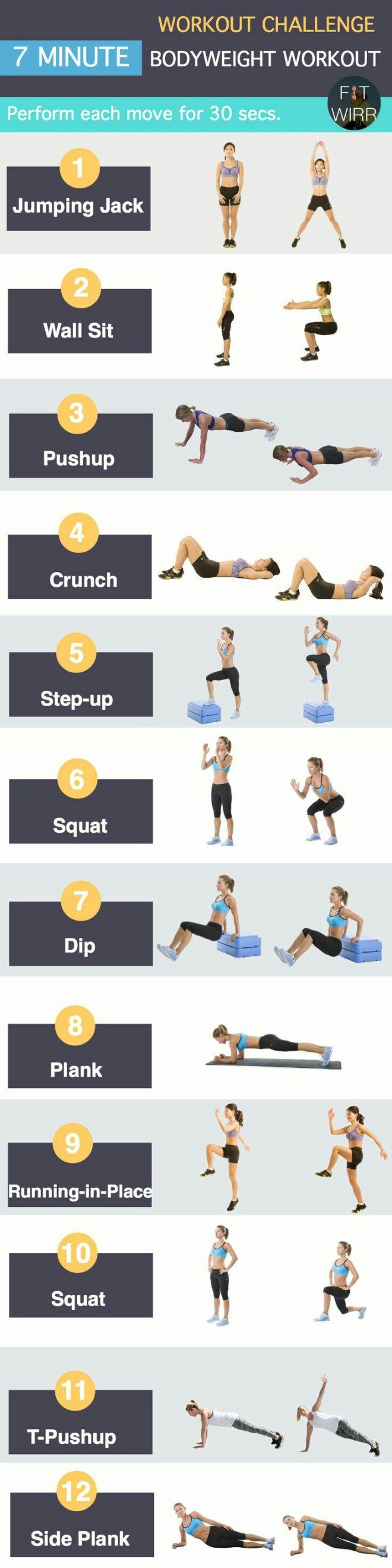 best body weight exercise