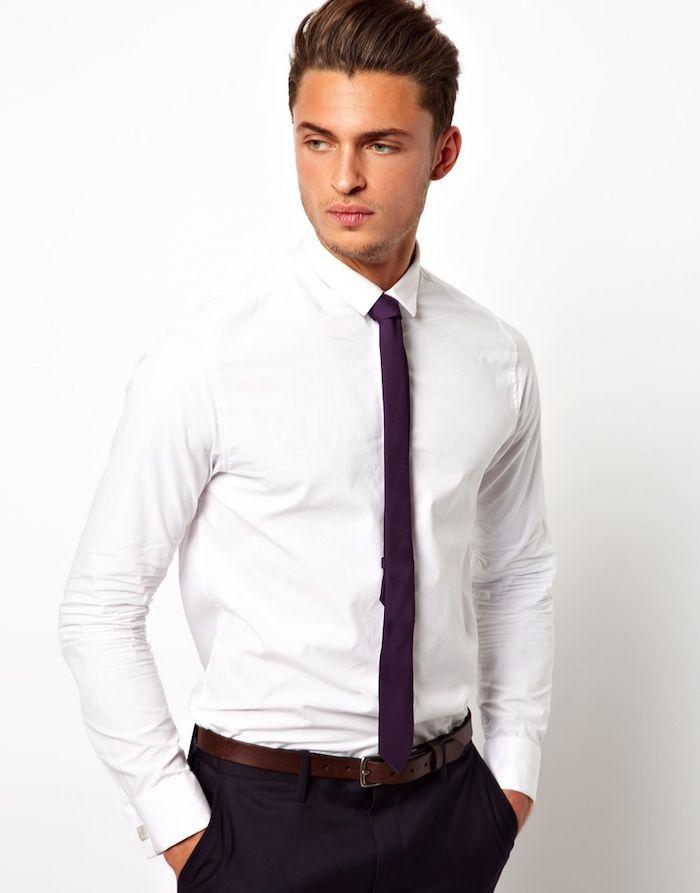Comment Mettre Une Cravate Un Sac De Noeuds Et De Styles Mode