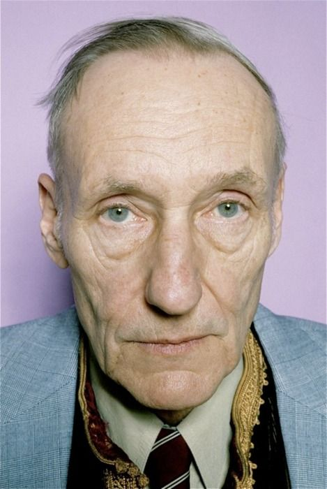 William Burroughs by Marcia Resnick