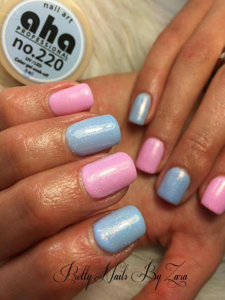 Spring nails 2016  #serenitynails #rosequartznails #mermaideffect #candynails #