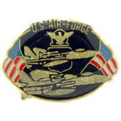 """U.S. Air Force Services Pin 1"""" by FindingKing. $8.99. This is a new U.S. Air Force Services Pin 1"""""""