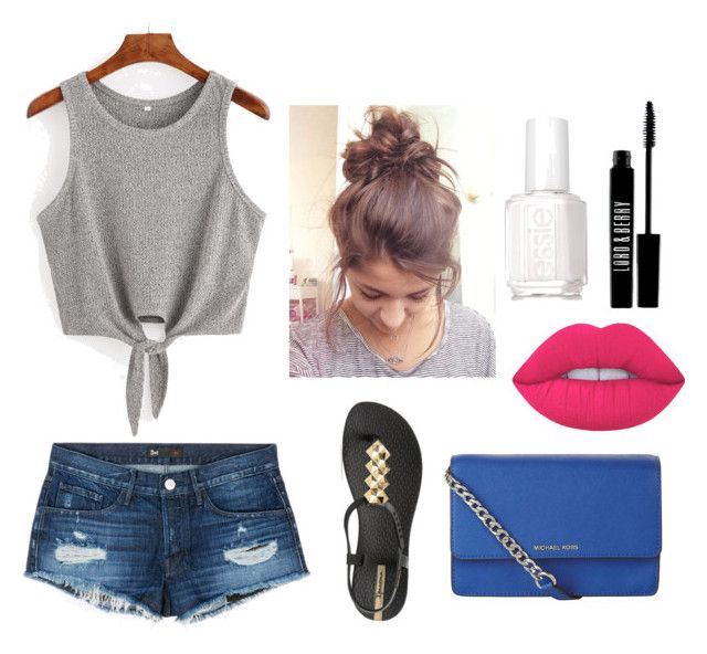 """""""Summer🌸❤️"""" by juliette-soucy on Polyvore featuring mode, 3x1, IPANEMA, Essie, Lime Crime, Lord & Berry et MICHAEL Michael Kors"""