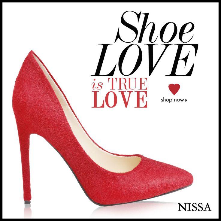 Shoe Love is TRUE LOVE!  * NISSA shoes * www.nissa.com  #nissa #shoes #footwear #pantofi #tocuri #heels #style #fashion #accessories #fancy #fashionista #red #hot #stil
