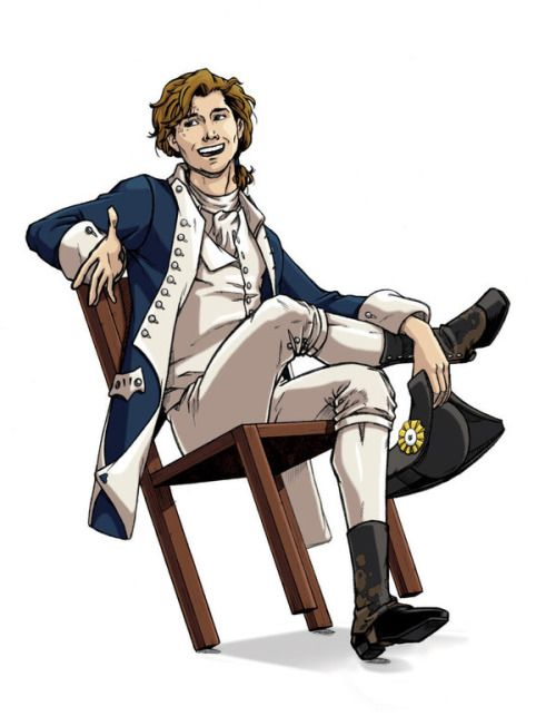 """greenteaparadise: """" Captain Nathan Hale by comic-chic """""""