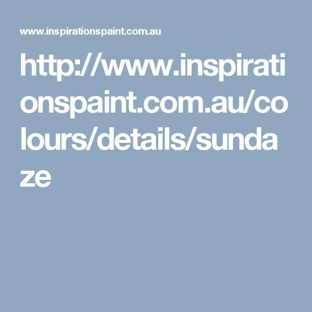 http://www.inspirationspaint.com.au/colours/details/sundaze