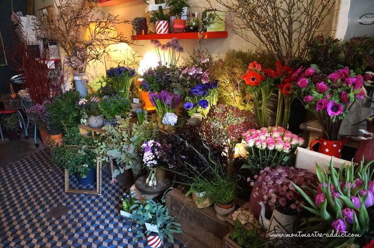 Mémé Dans Les Orties, magasin de fleurs rue Ramey,  à découvrir lors de votre séjour dans l'un de nos hôtels By HappyCulture : https://www.happyculture.com/