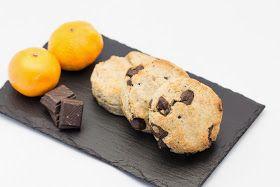Hovkonditorn: Vegan and Gluten-free Chocolate Mandarin Scones