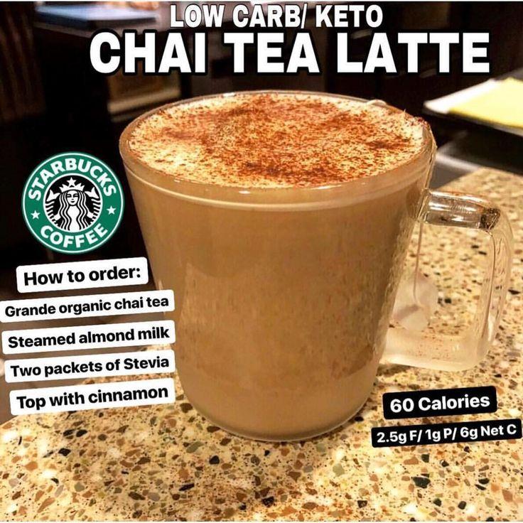 ☕️ Low Carb/ Keto Chai Tea Latte