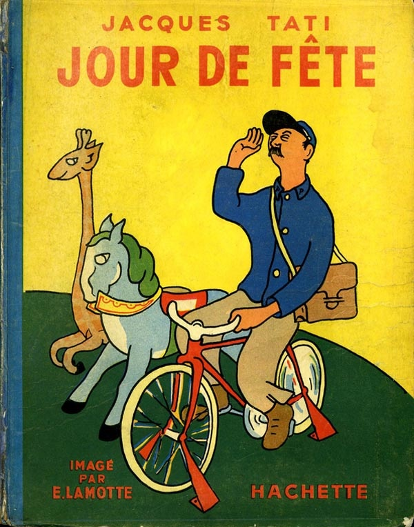 Jour de fete 1950 by jacques tati illustrations by e - Jour de fete vendenheim ...