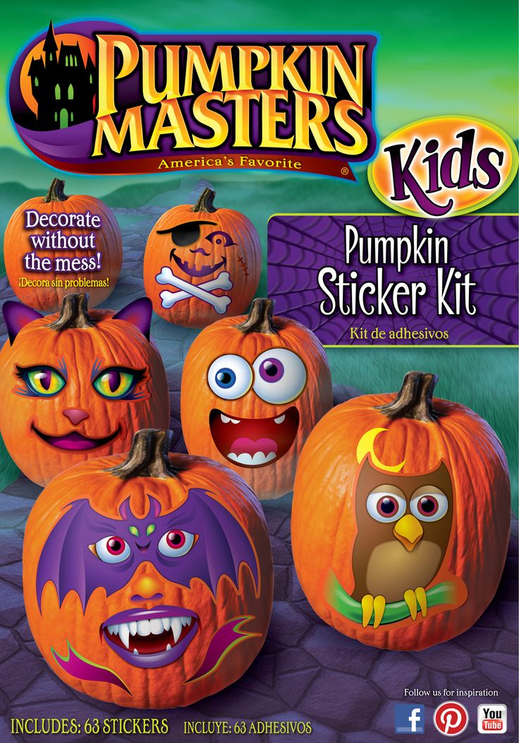kit creates none of the messes associated with carving and allows kids to join in the family fun creating an endless amount of halloween decorations