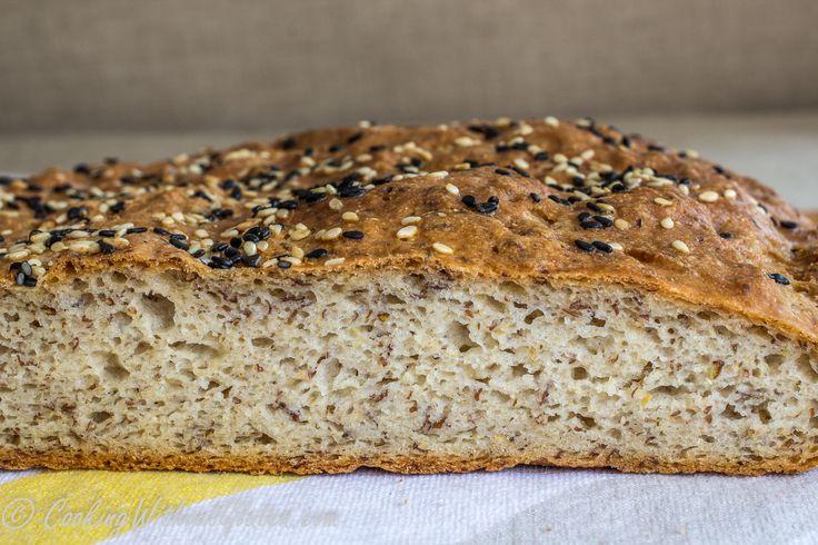 Цельнозерновой хлеб без глютена