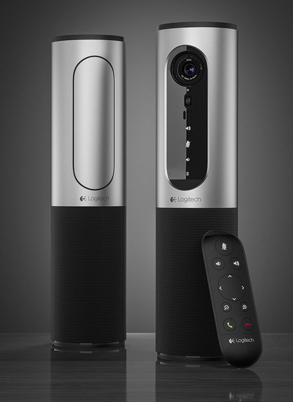 Logitech ConferenceCam Connect on Behance
