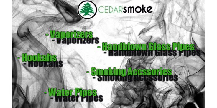 Cedar Smoke Vaporizers Hookahs
