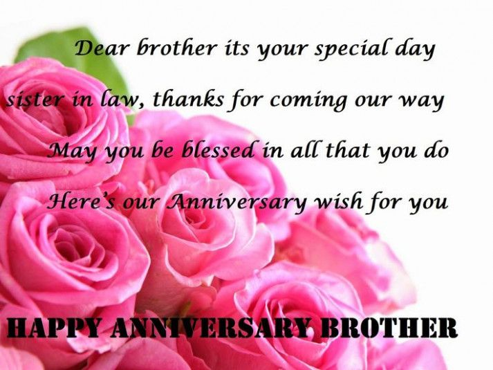 Happy Anniversary Wishes For Brother And Sister In Law Brother Anniversary Wishes Happy Weddingquotes Forbrother Hochzeitstag Wunsche Alles Gute Zum Jahrestag