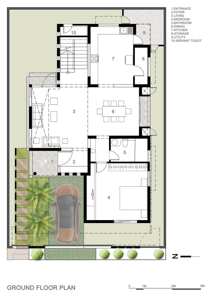 Gallery Of Tree Hugger 4site Architects 20 Architecture Plan Architectural House Plans Model House Plan