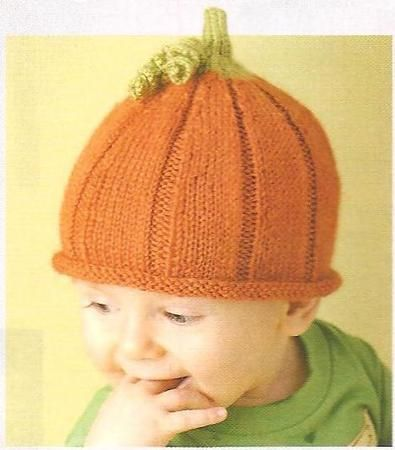 This is a link to multipul baby knits. This punkin hat is FREE Baby Patterns from Knitting Daily