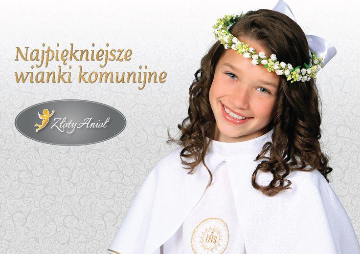 Katalog wianków komunijnych na najbliższy sezon. Obejrzyjcie koniecznie! http://zlotyaniol.pl/files/wianki-komunijne.pdf