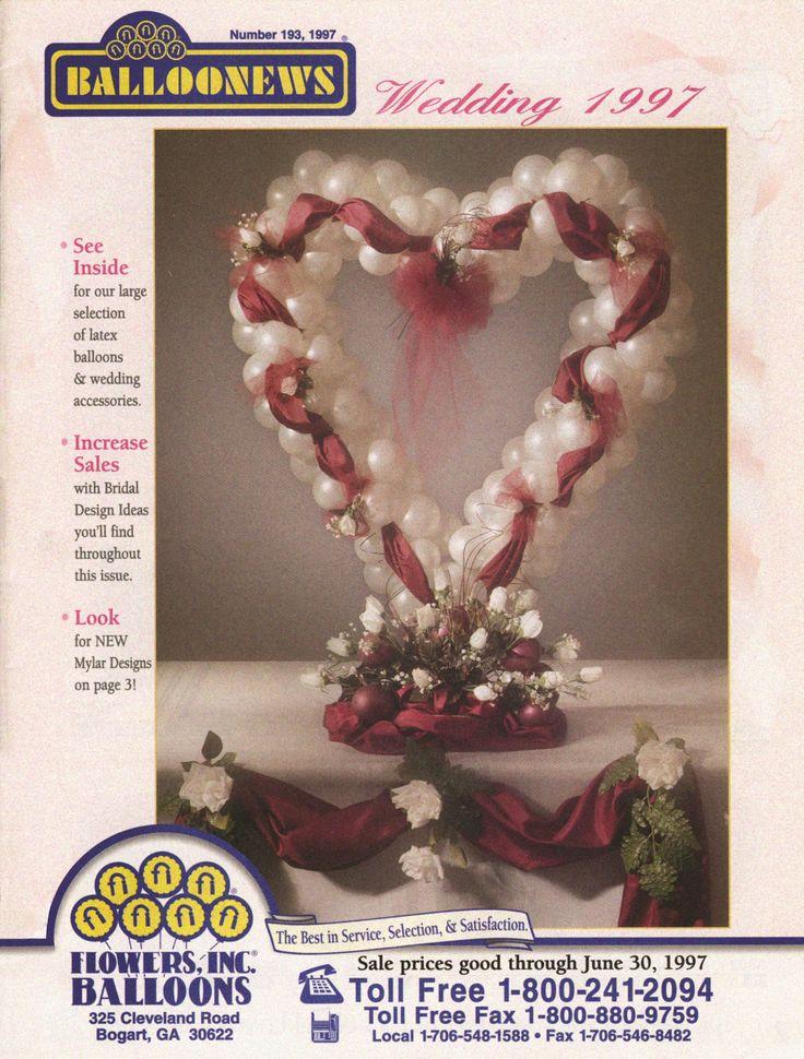 BALLOONEWS: Wedding 1997 #burtonandburton #tbt