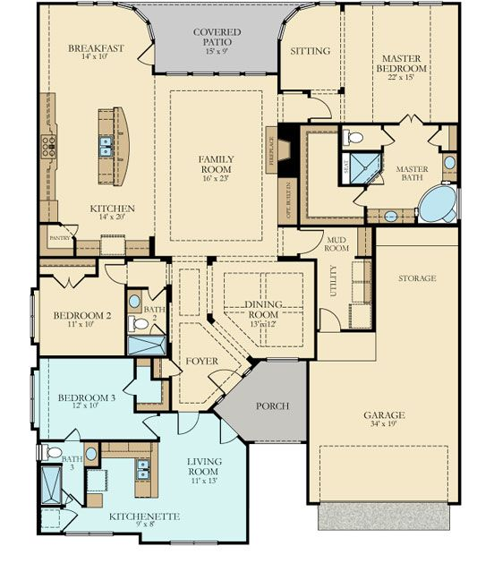 Best 25 next gen homes ideas on pinterest house layout for Dual living house plans