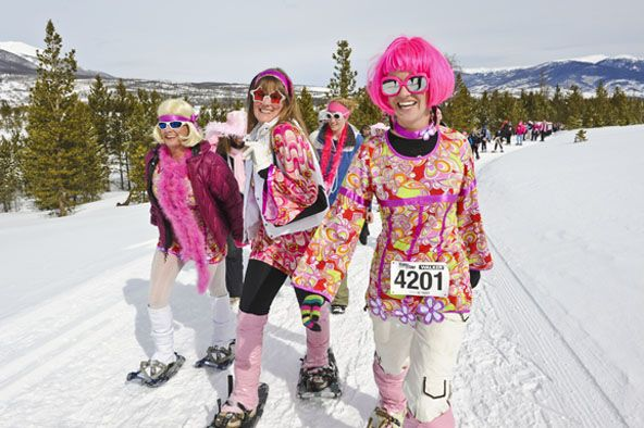 Excellent attire choices from the 2012 Romp! #getyourpinkon #tubbsromp