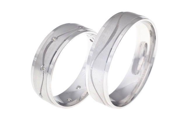Snubní prsteny - model č. 237/02