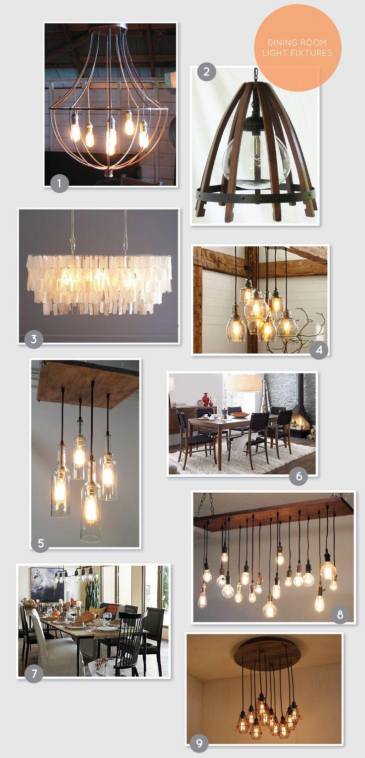 Dining Room Light Fixtures on aliceandlois.com #lightfixtures