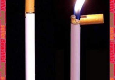 He will send 3 pieces Cigarette shaped Butane Lighter your home for $5
