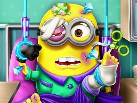 ★Minions Funny Games 2015★ - Take Care Of Minions - Game For Kid!!