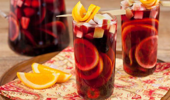 Fresh Berry Sangria