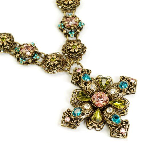 Sweet romance renaissance cross necklace sweet romance for Selling jewelry on amazon