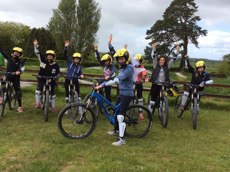 Hen party at Bike Park Ireland...girls getting great outdoor fun before their night out!