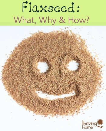 Flaxseed: What is it, why eat it, and how to sneak it in to food. Plus lots of links to of recipes that use flaxseed.
