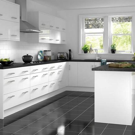61 best white gloss kitchens images on pinterest kitchen for White gloss kitchen corner unit