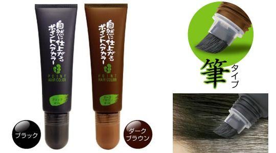 Rishiri Kombu Seaweed Extract Hair Dye Brush