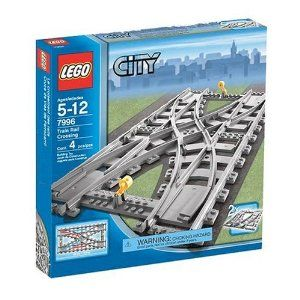 LEGO City Train Rail Crossing (7996) by LEGO. $198.99. Assembly required. Make your railway bigger and more advanced with this simple addition. Works with the new IR train system#7895, 7896, 7897 and 7898 and can be combined with the former rail system(each sold separately). For ages 5-12 yrs.. Take your train to new destinations.  Make your railway bigger and more advanced with this simple addition.  Works with the new IR train system #7895, 7896, 7897 and 7898 and can be combin...