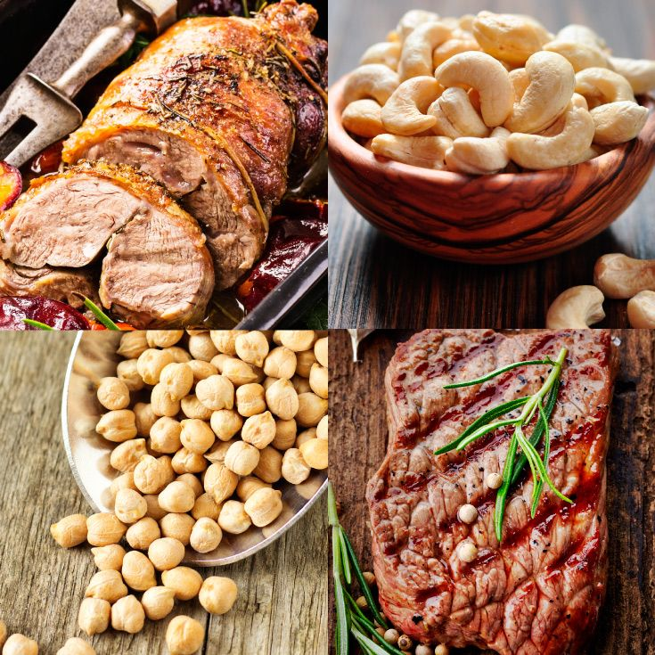 Promoting healthy skin with copper and zinc, our venison