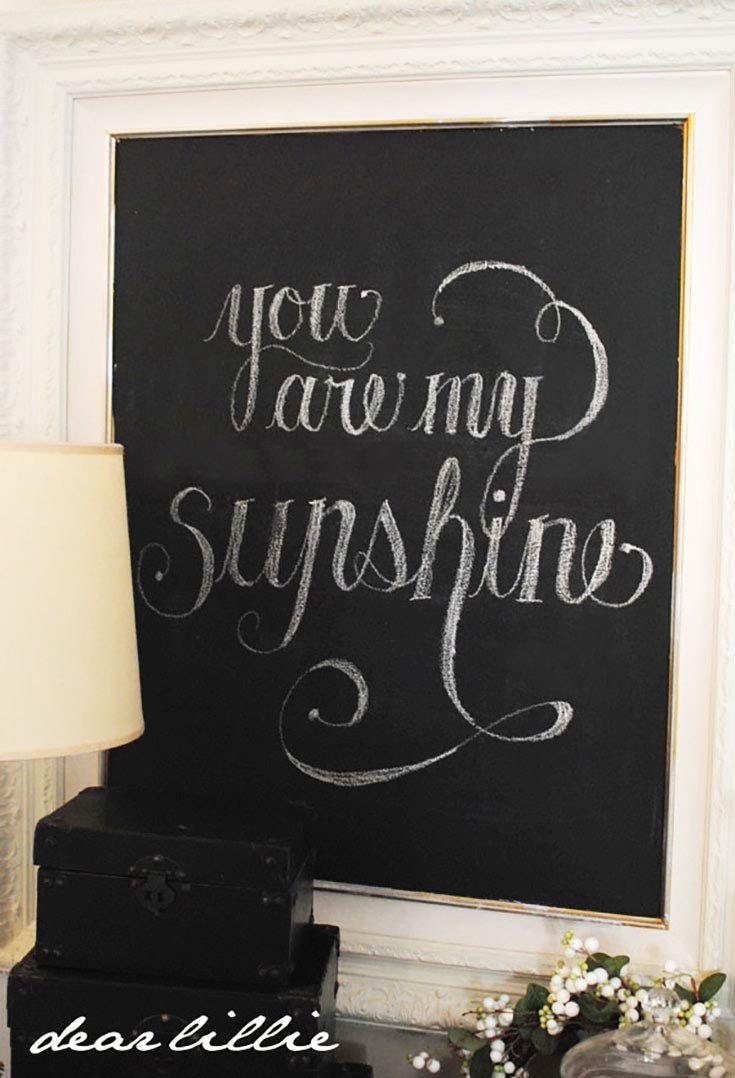 157 Best Home Chalkboard Ideas Images On Pinterest