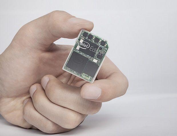 インテル、SD カードサイズの超小型PC 『Edison』 発表。デュアルコアCPU、WiFi 搭載のウェアラブル端末用