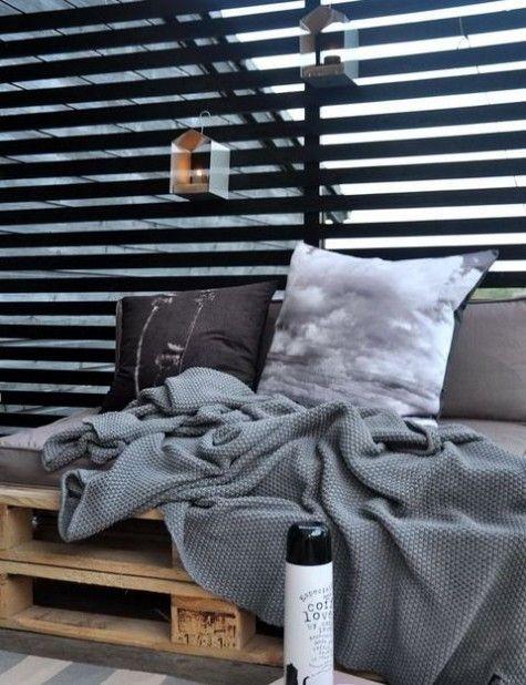 Scandinavian Terrace Decor Ideas | ComfyDwelling.com