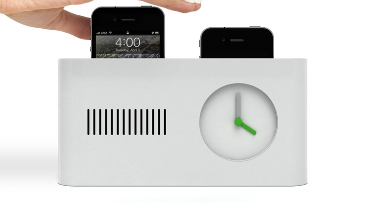 day maker iphone alarm clock/hubHot Stuff, Alarm Clocks, Iphone Alarm, Pop Up, Iphone Chargers, Women Accessories, Alarmclock, Design Concept, Charging Stations