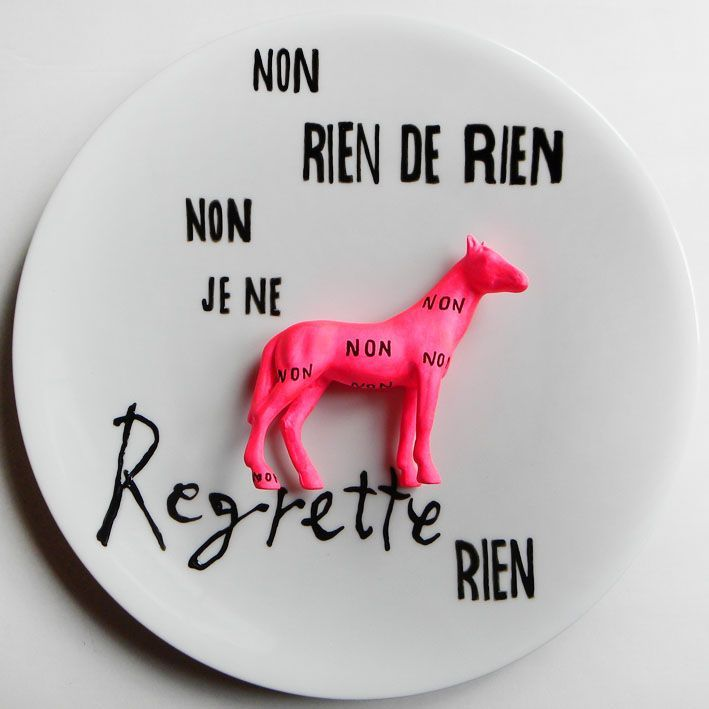 Non rien de rien via Deluna Ceramics. Click on the image to see more!