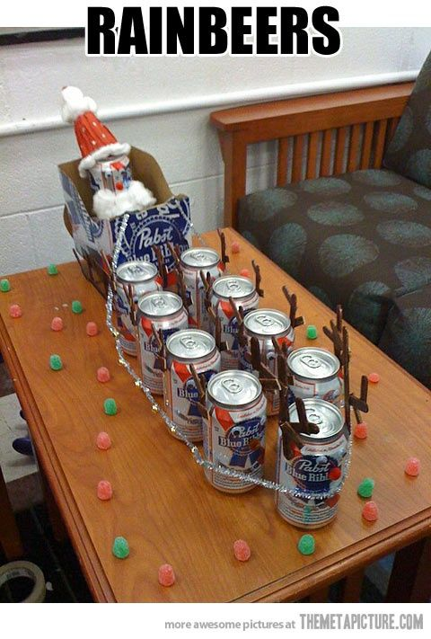 Rainbeers! christmas present for Zach