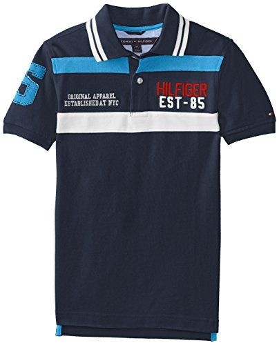 Tommy Hilfiger Big Boys' Short Sleeve Justin Polo Shirt, Swim Navy, Small Tommy Hilfiger http://www.amazon.com/dp/B00L40UAUK/ref=cm_sw_r_pi_dp_5dMOub1CSBHS8