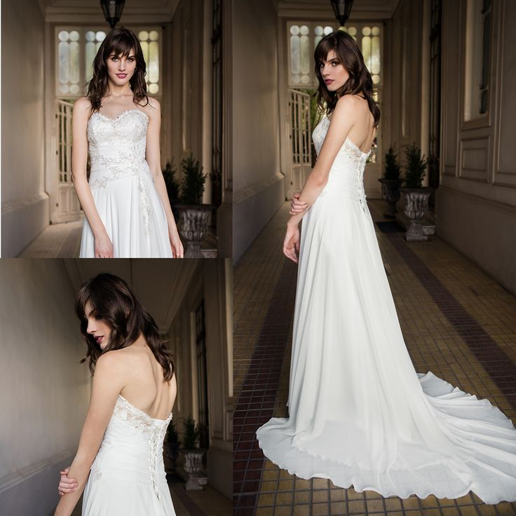 Vestido de novia strapless ·  strapless wedding dress