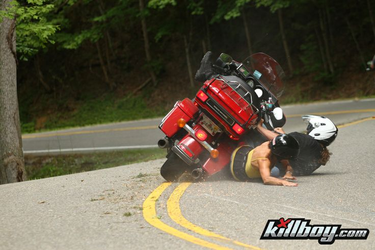 Deals Gap Ouch Leave That Stupid Hog On The Parkway