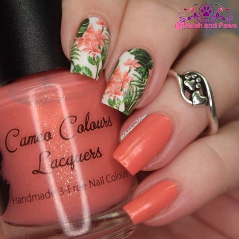 Polish and Paws: Nail Art ~ Nicole Diary Water Decals