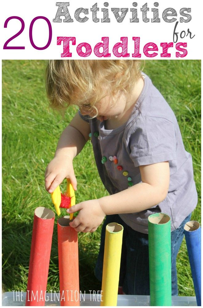 20 fun activities for toddlers! There are some awesome ideas on this page. definitely need to try!
